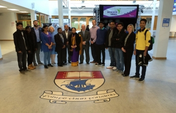 AMBASSADOR'S VISIT TO WATERFORD INSTITUTE OF TECHNOLOGY ON 13TH NOVEMBER