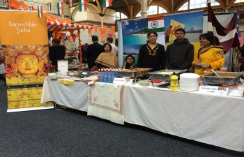 INTERNATIONAL CHARITY BAZAAR AT RDS ON 16TH NOVEMBER 2014