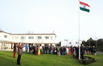 Republic Day Flag Hoisting Ceremony 2015
