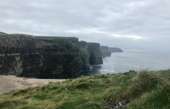 Cliffs of Moher, site of death of Indian student Anand Goel
