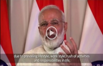 Prime Minister's message for International Day of Yoga 2019