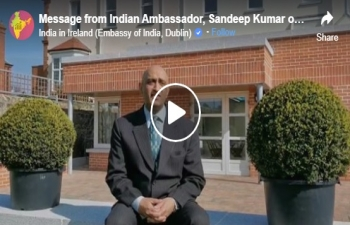 Message from Indian Ambassador Sandeep Kumar on COVID-19