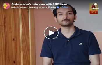 Ambassador's interview with ABP News-