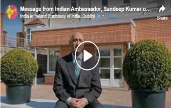 Message from Indian Ambassador Sandeep Kumar on COVID-19