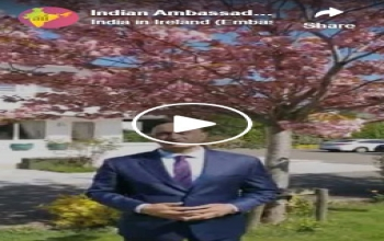 Ambassador's message to Indian community on extension of lockdown and travel ban in India