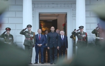 Ambassador's online interview with Diplomat.ie on Embassy's handling of the COVID-19 situation- 2020