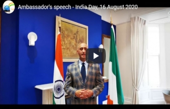 Ambassador's speech- India Day Aug 16 2020