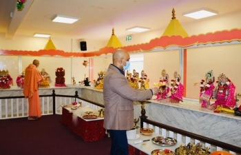 Inauguration of first HIndu temple in Ireland 2020
