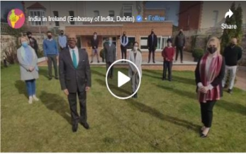 A tribute by Indian Embassy in Dublin on International Women's Day