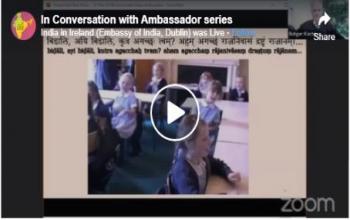 In Conversation with Ambassador- Rutger Kortenhorst, Recipient of ICCR World Sanskrit Award -2020