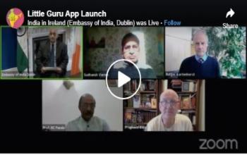 Launch of Little Guru, world's first Gamified Sanskrit learning app