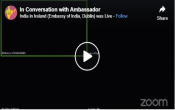 In Conversation with Ambassador'- Power of Medical Science: Managing Covid-19 effectively
