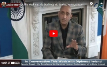 In Conversation This Week with His Excellency Mr. Sandeep Kumar, Ambassador of India